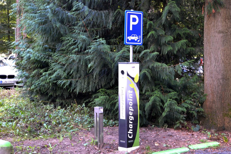 Oplaadpunt elektrische autos Landgoed Zonheuvel Doorn Utrecht
