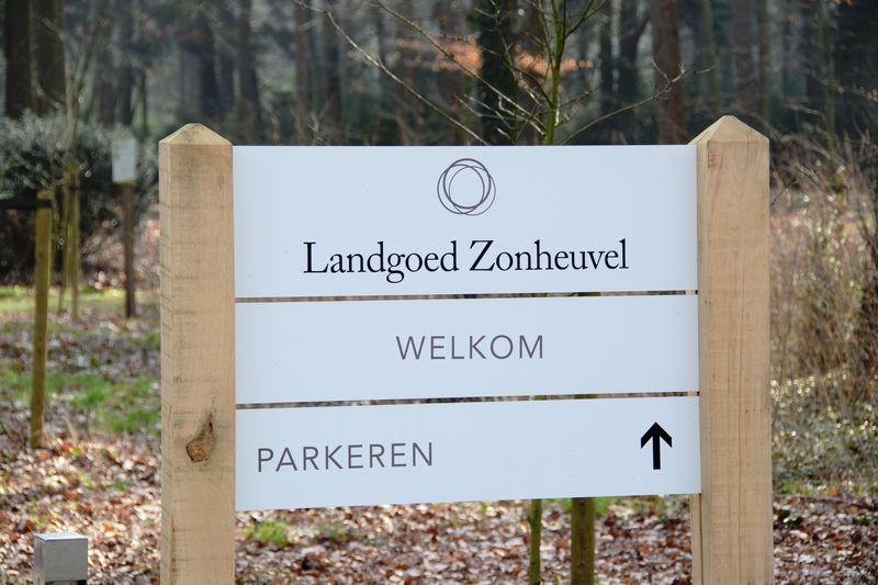 Parkeren Routebeschrijving Landgoed Zonheuvel
