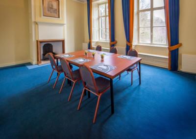 Vergaderen op een kasteel - Panorma kamer Kasteel Maarten Maartenshuis Doorn