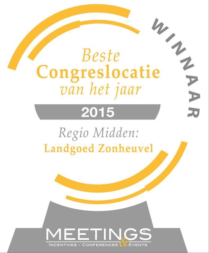 Conferentiehotel Landgoed Zonheuvel - Beste congreslocatie 2015