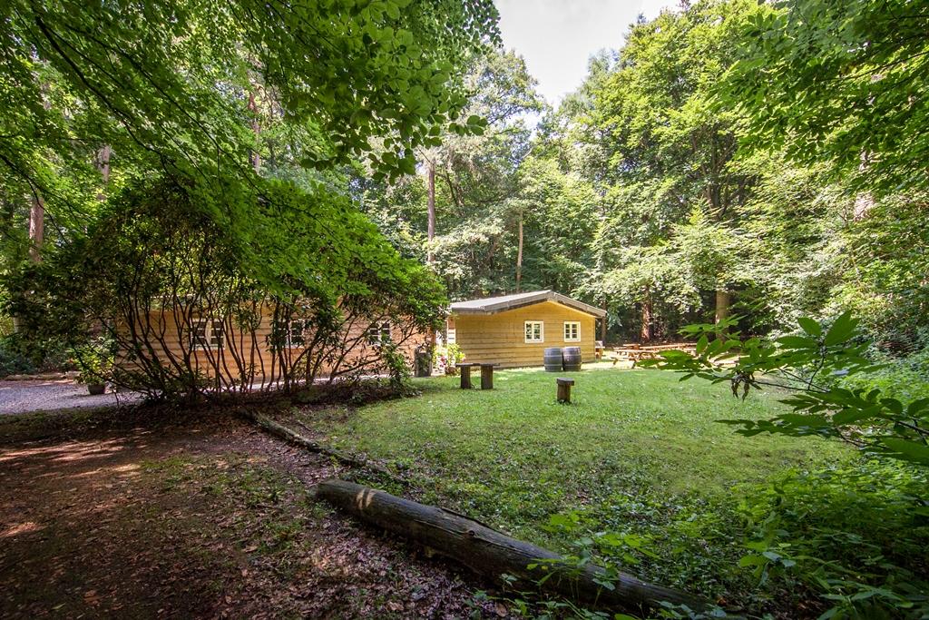 Vergaderen in het bos - Lodge op Landgoed Zonheuvel in Doorn - Utrecht