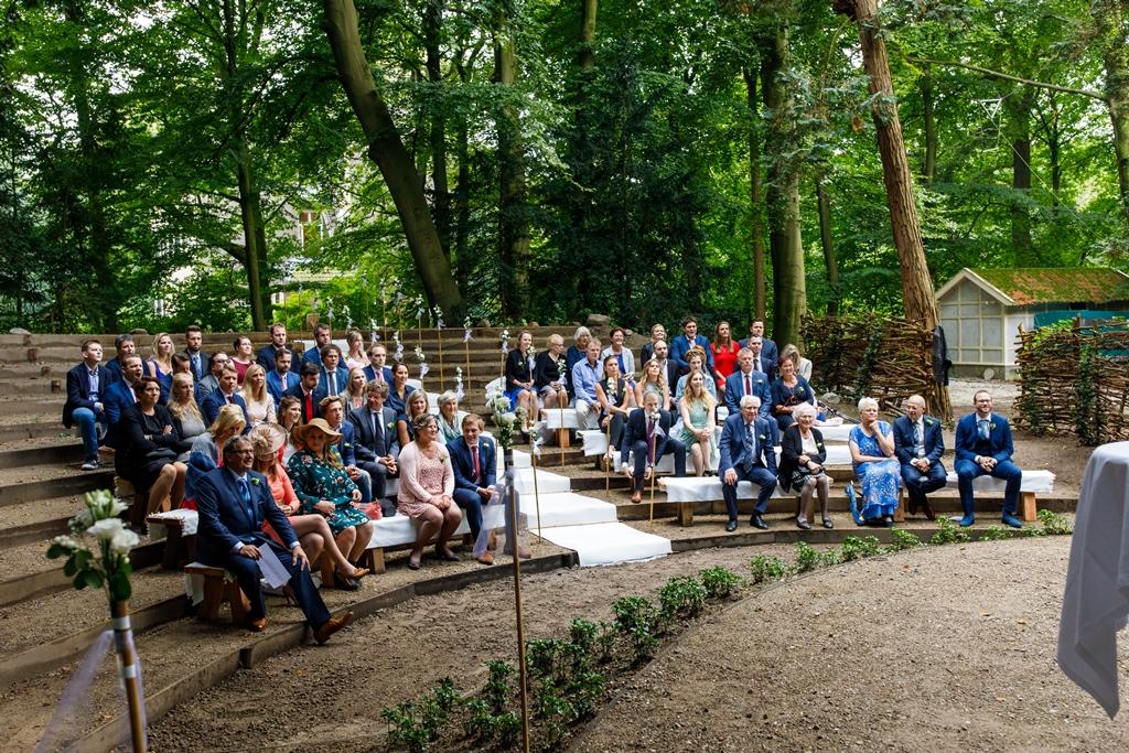 Unieke trouwlocatie: Openlucht theater Kasteel Maarten Maartenshuis Doorn Utrecht
