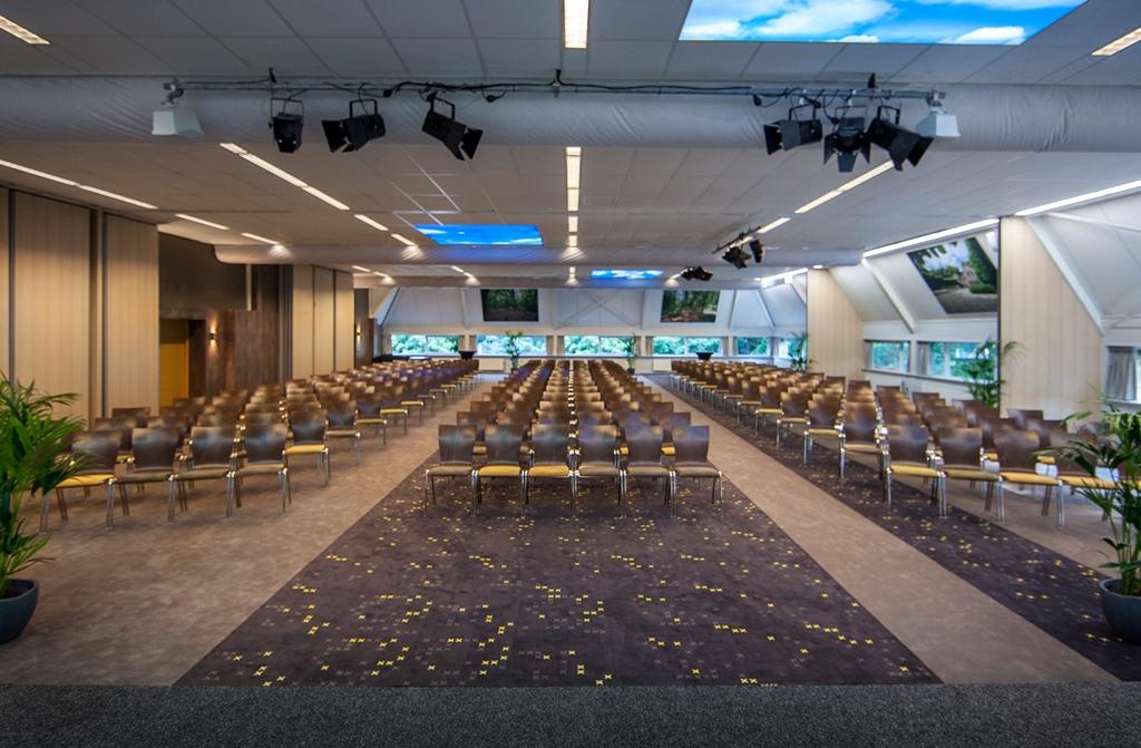 Congreszaal 500 gasten - Conferentiecentrum Zonheuvel Doorn Utrecht