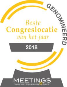 Landgoed Zonheuvel genomineerd voor beste Congreslocatie van het jaar 2018