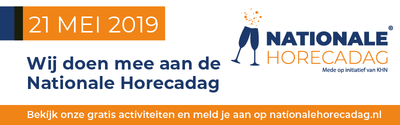 Nationale Horecadag 21 mei 2019: de Zonheuvel Horeca Zeskamp