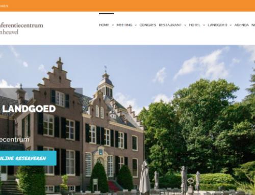 Website LandgoedZonheuvel.nl opgefrist